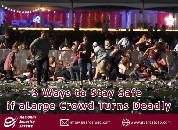Ways to Stay Safe if a Large Crowd Turns Deadly